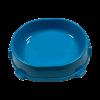 ЗооМарк Миска Фаворит д-кошек 220мл пластик. нескользящая ,голубая (17903)