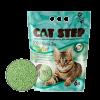 """Наполнитель """"Кэт Степ"""" TOFU Green Tea комкующийся 6л (соевые волокна и экстрат зеленого чая)"""