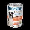 """Консервы """"Monge Dog"""" Fresh 400г д-собак пожилых Мясной рулет индейка-овощи"""