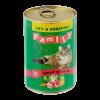 "Консервы ""Клан Фамили"" 415г д-кошек паштет ягненка"